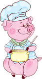 Piglet-chief Stock Image