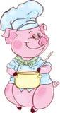 Piglet-chief Stock Image