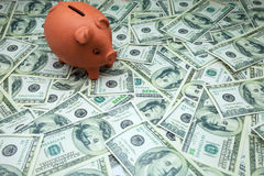 Piglet moneybox Royalty Free Stock Photo