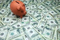 Piglet moneybox Royalty Free Stock Photo