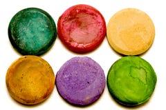 pigment pastylki sześć Fotografia Royalty Free