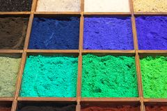 Pigment powder Royalty Free Stock Photos