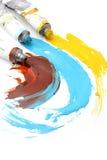 Pigmenti Fotografia Stock Libera da Diritti