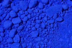 Pigmento azul fotografia de stock