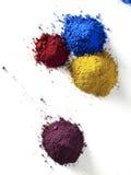 Pigmento da cor Foto de Stock