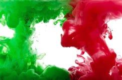 Pigmentos líquidos Fotografia de Stock