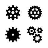 pignon Eenvoudige Verwante Vectorpictogrammen vector illustratie