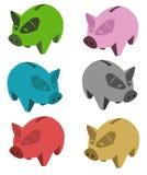pigs stock illustrationer