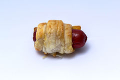 Pigs in blanket Royalty Free Stock Images