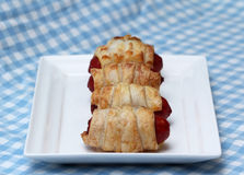 Pigs in blanket Stock Images