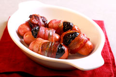Pigs in blankets Stock Photo