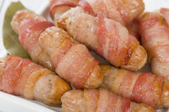 Pigs in Blankets Stock Image