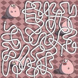PigsMazelek royaltyfri illustrationer