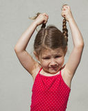 Pigtails Royalty Free Stock Photography
