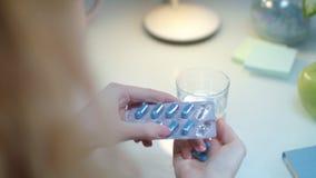 pigułki cierpliwy zabranie Medicaments w ręce Choroby zapobieganie zdjęcie wideo