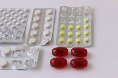 Pigułki medycyna zdjęcie stock