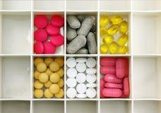 Pigułki pudełko Fotografia Stock