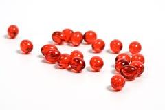 pigułki czerwone Obraz Stock