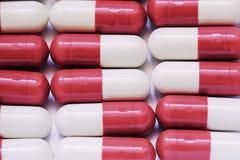 pigułki czerwone Zdjęcie Stock