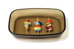 Pigułki na talerzu Zdjęcie Stock
