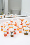 pigułki prescrption butelki medycyny Fotografia Stock