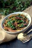 Pigweed della frittura di scalpore Immagine Stock