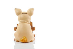 Pigy bank on white background Stock Photos