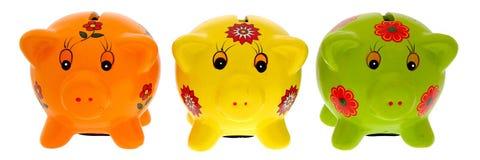 Pigy banks stock photos