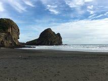 Piha海滩 图库摄影