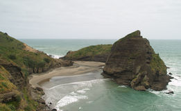 Piha beach Royalty Free Stock Image
