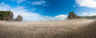 Piha beach Royalty Free Stock Image