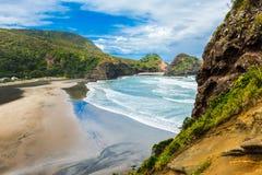 Piha beach Stock Photos
