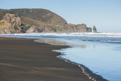 Piha beach, New Zealand Royalty Free Stock Photos