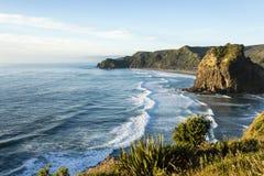Piha Beach, New Zealand Royalty Free Stock Photos