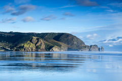 Piha Beach. Is one of New Zealand's most famous surf beaches royalty free stock photography