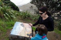 Piha - Nya Zeeland Arkivbilder