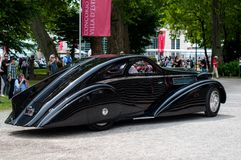 PII Aedynamic Coupe (1935) de Rolls Royce Images stock