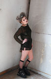 PII de la muchacha de la moda imagen de archivo
