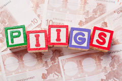 PIIGS Royalty Free Stock Photos