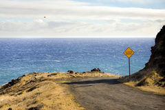 Piilani Highway Royalty Free Stock Photo