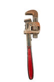 Piipe wrench Royalty Free Stock Photo