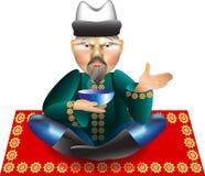 pijącego mężczyzna herbata Fotografia Royalty Free