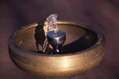 Pijący fontannę - Wodna fontanna Obrazy Royalty Free