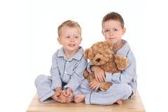 Pijama boys Royalty Free Stock Photo