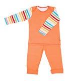 Pijamas das crianças brilhantes Fotografia de Stock