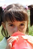 pijany małej dziewczynki obrazy royalty free