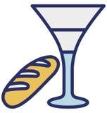 Pije, Easter napój Odizolowywająca Wektorowa ikona która może łatwo redagować lub modyfikować ilustracja wektor