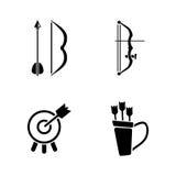 Pijl en Boog stock illustratie
