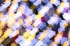 Pijl gestalte gegeven licht Stock Foto's