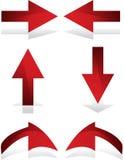 Pijlen Royalty-vrije Stock Afbeeldingen